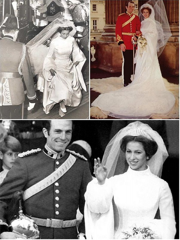Royal Wedding Dresses Of The Past