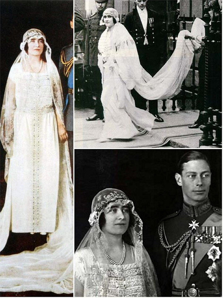 Royal Wedding Dresses Of The Past The Wedding Secret