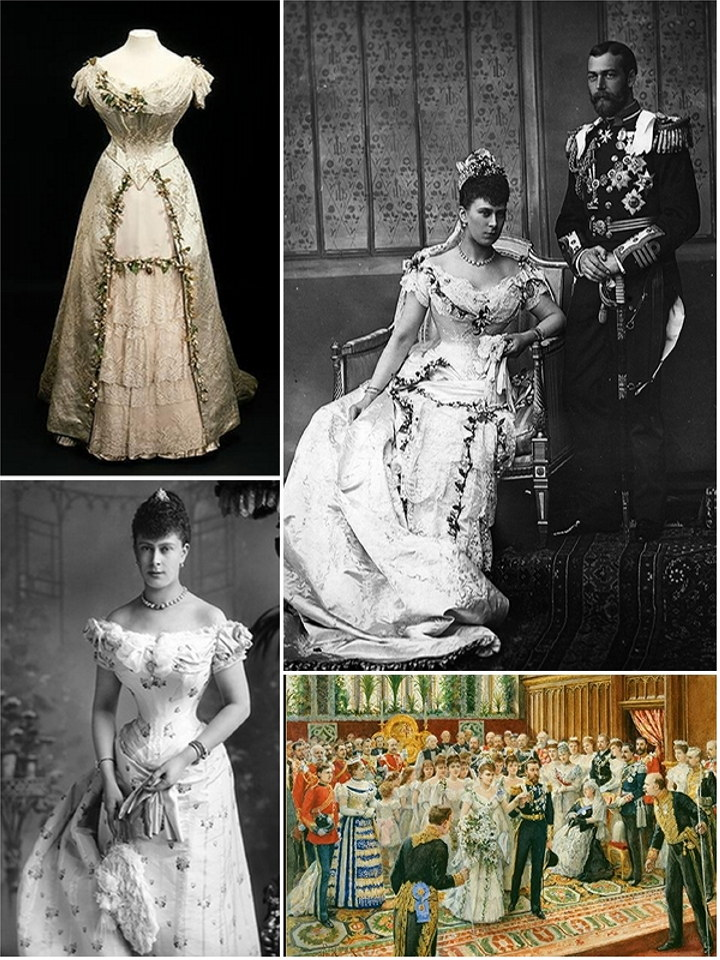 Iconic Wedding Dresses Queen Mary 1893 The Wedding