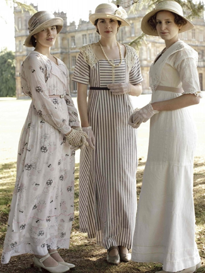 Perfect &quotDownton Abbey Is So Popular Right Now, And People Watch The Show For The Plotline But Also For The Fashions, Kanouff Says The Show Really Showcases How People Had To Dress, From The Corsets To Changing Their Clothes For Dinner