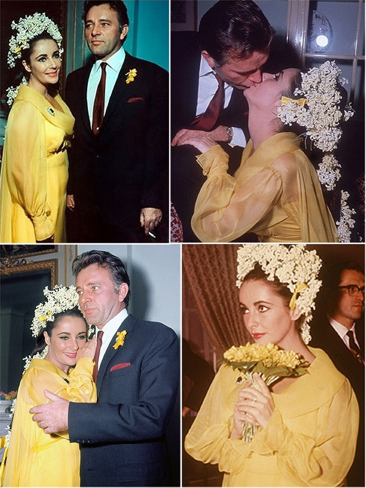 Lut aty a dopl ky m dn for Elizabeth taylor s wedding dresses