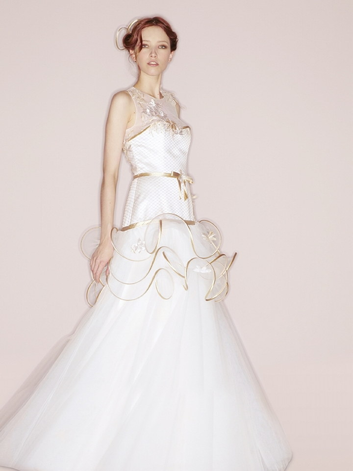 Suzanne ermann couture collection preview the wedding for Amazon designer wedding dresses