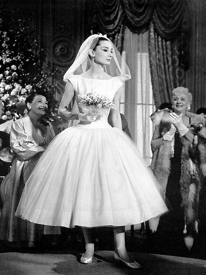 Iconic Wedding Dresses From The Movies Funny Face