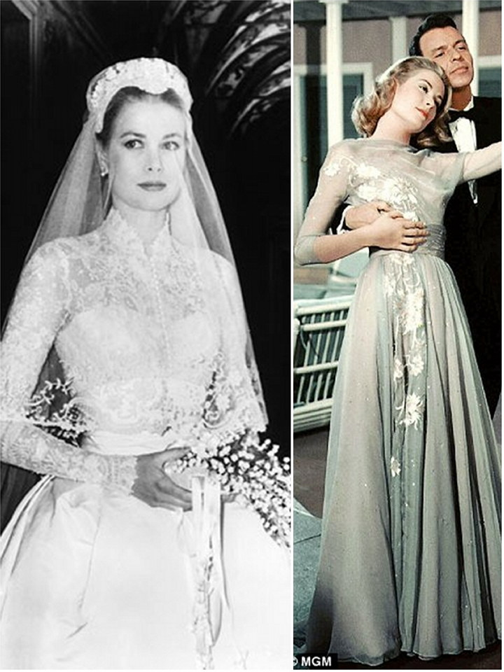 iconic wedding dresses in film high society the