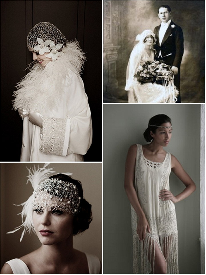 Style guide 1920 39 s vintage the wedding secret magazine for Wedding dress 30s style