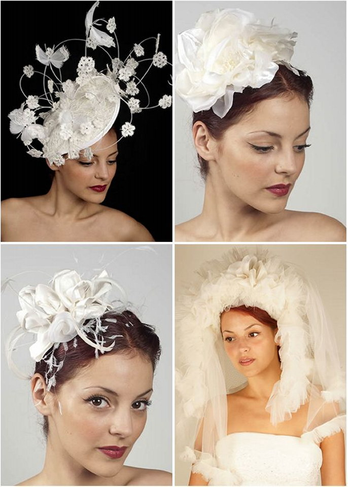 Wedding dress secret style guide bridal hats the for Dress hats for weddings